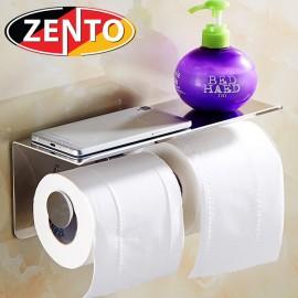 Lô giấy vệ sinh kép inox Zento HC1267